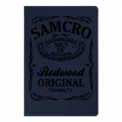 Блокнот А5 Сини Анархії Samcro