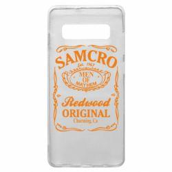 Чехол для Samsung S10+ Сыны Анархии Samcro