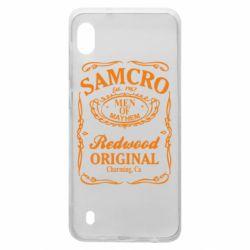 Чехол для Samsung A10 Сыны Анархии Samcro