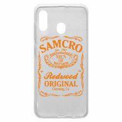 Чохол для Samsung A20 Сини Анархії Samcro