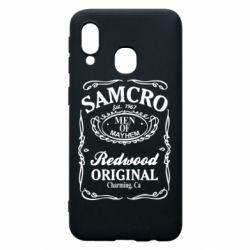 Чохол для Samsung A40 Сини Анархії Samcro
