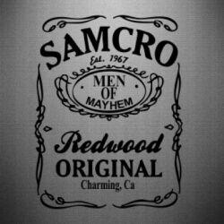 Наклейка Сыны Анархии Samcro - FatLine