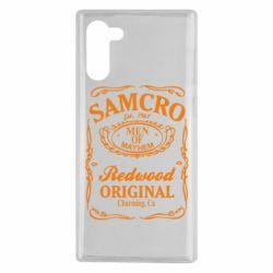 Чехол для Samsung Note 10 Сыны Анархии Samcro
