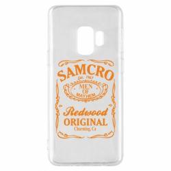 Чохол для Samsung S9 Сини Анархії Samcro