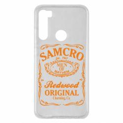 Чехол для Xiaomi Redmi Note 8 Сыны Анархии Samcro