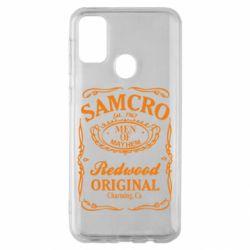 Чохол для Samsung M30s Сини Анархії Samcro