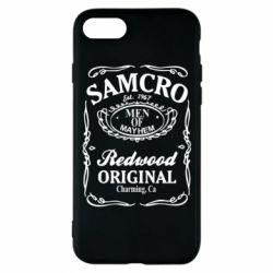 Чохол для iPhone 8 Сини Анархії Samcro