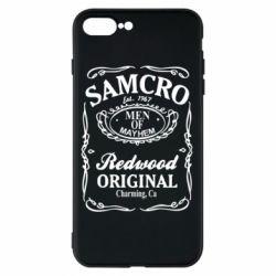 Чохол для iPhone 8 Plus Сини Анархії Samcro