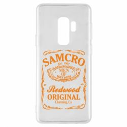 Чохол для Samsung S9+ Сини Анархії Samcro