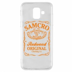 Чехол для Samsung A6 2018 Сыны Анархии Samcro