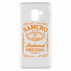 Чохол для Samsung A8 2018 Сини Анархії Samcro