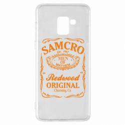 Чехол для Samsung A8+ 2018 Сыны Анархии Samcro