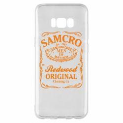 Чохол для Samsung S8+ Сини Анархії Samcro
