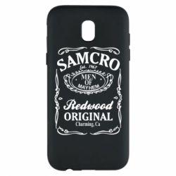 Чехол для Samsung J5 2017 Сыны Анархии Samcro