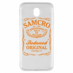 Чехол для Samsung J7 2017 Сыны Анархии Samcro