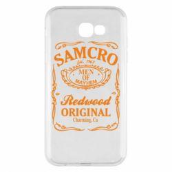 Чохол для Samsung A7 2017 Сини Анархії Samcro