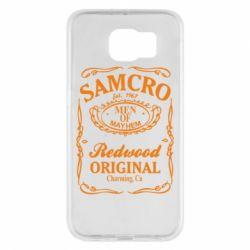 Чехол для Samsung S6 Сыны Анархии Samcro