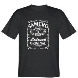 Мужская футболка Сини Анархії Samcro - FatLine