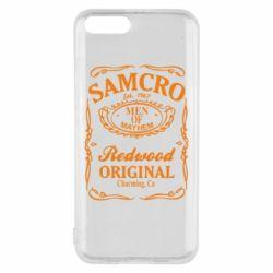 Чехол для Xiaomi Mi6 Сыны Анархии Samcro