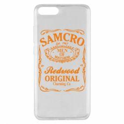 Чехол для Xiaomi Mi Note 3 Сыны Анархии Samcro