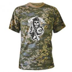 Камуфляжная футболка Сыны Анархии