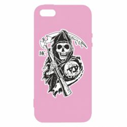 Купить Sons of Anarchy, Чехол для iPhone5/5S/SE Сыны Анархии, FatLine