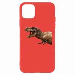 Чохол для iPhone 11 T-rex in profile