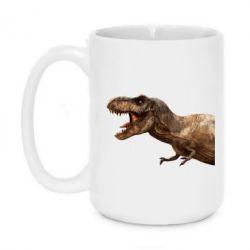 Кружка 420ml T-rex in profile