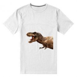 Чоловіча стрейчева футболка T-rex in profile