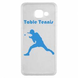 Чохол для Samsung A3 2016 Table Tennis Logo
