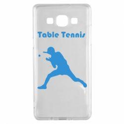 Чохол для Samsung A5 2015 Table Tennis Logo