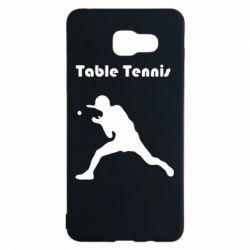 Чохол для Samsung A5 2016 Table Tennis Logo