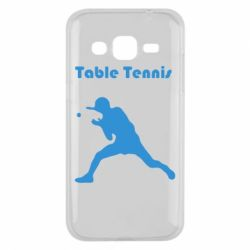 Чохол для Samsung J2 2015 Table Tennis Logo