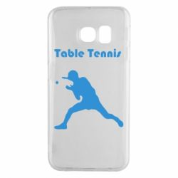 Чохол для Samsung S6 EDGE Table Tennis Logo