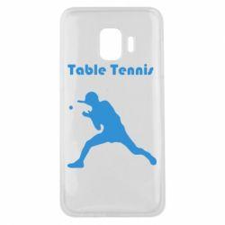 Чохол для Samsung J2 Core Table Tennis Logo