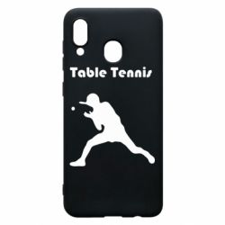 Чохол для Samsung A20 Table Tennis Logo