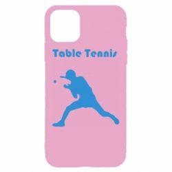 Чохол для iPhone 11 Table Tennis Logo