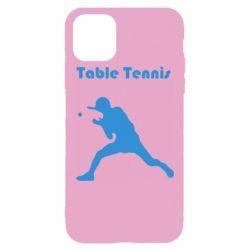Чохол для iPhone 11 Pro Max Table Tennis Logo
