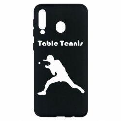 Чохол для Samsung M30 Table Tennis Logo