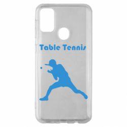 Чохол для Samsung M30s Table Tennis Logo