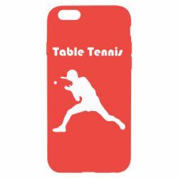 Чохол для iPhone 6 Table Tennis Logo