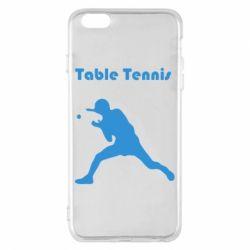 Чохол для iPhone 6 Plus/6S Plus Table Tennis Logo