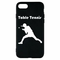 Чохол для iPhone 7 Table Tennis Logo