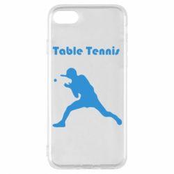 Чохол для iPhone 8 Table Tennis Logo