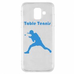 Чохол для Samsung A6 2018 Table Tennis Logo