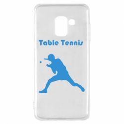Чохол для Samsung A8 2018 Table Tennis Logo