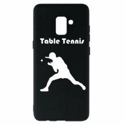 Чохол для Samsung A8+ 2018 Table Tennis Logo