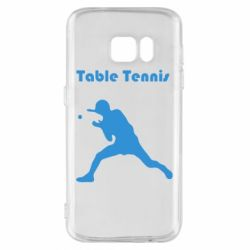 Чохол для Samsung S7 Table Tennis Logo