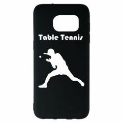 Чохол для Samsung S7 EDGE Table Tennis Logo