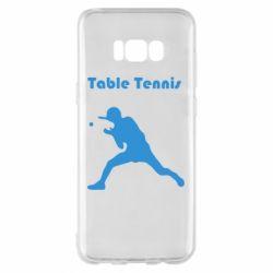 Чохол для Samsung S8+ Table Tennis Logo